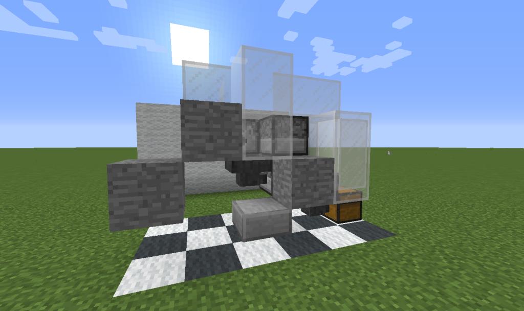 マインクラフト 焼き鳥 自動 作り方