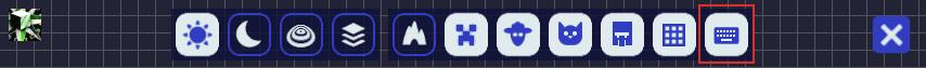 マインクラフト JourneyMap メニューキーボードショートカット