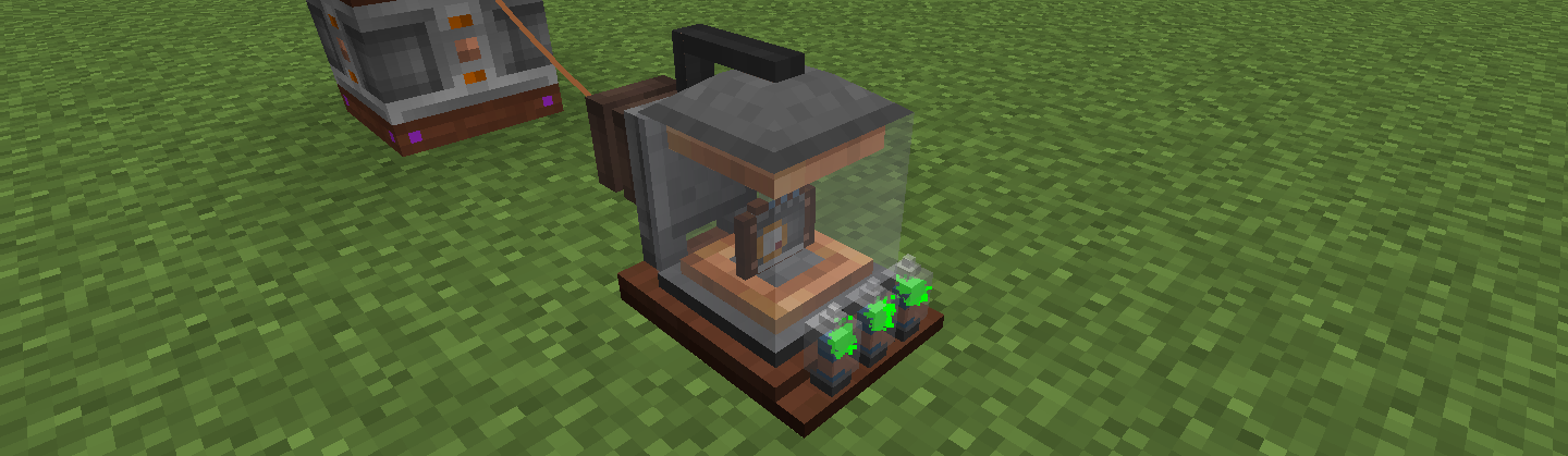 Immersive Engineering 充電ステーション Charge Station
