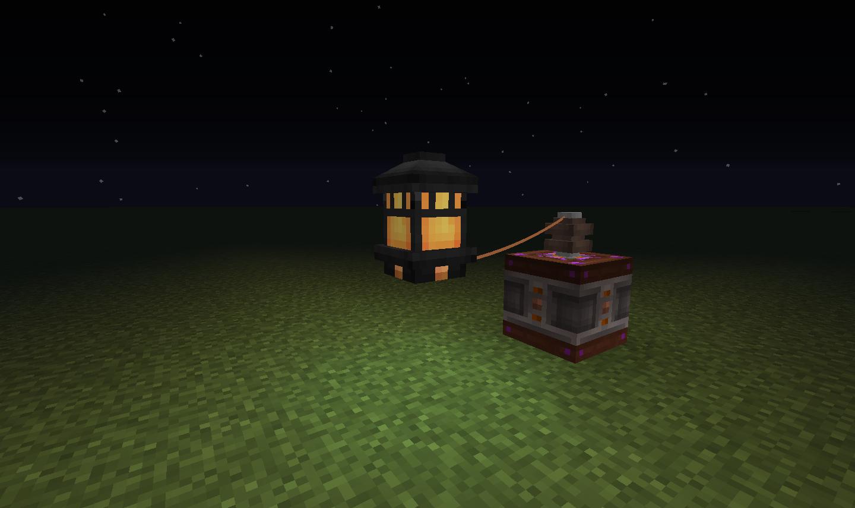 Immersive Engineering パワードランタン Powered Lantern