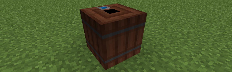 Immersive Engineering 木製バレル Wooden Barrel
