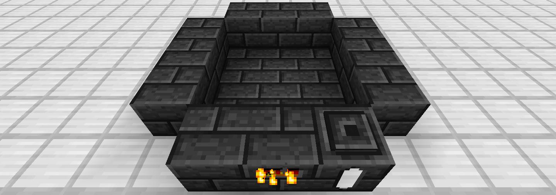マインクラフト Tinkers' Construct 乾式製錬炉 Smeltery 組み立て 2